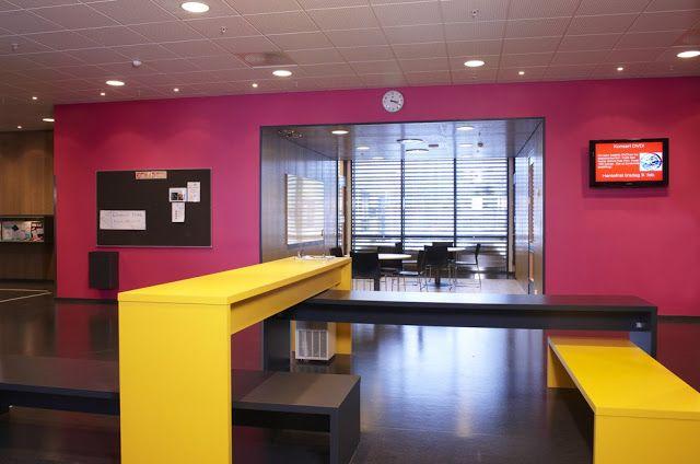 Imagine These: School Interior Design Gjerdrum Secondary School Gjerdrum Norway Kristin - Tromsø Kindergartens // Everyday Transformation 70°N Arkitektur