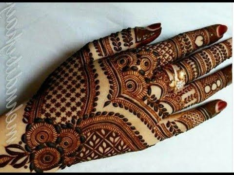 Easy Mehndi Ideas : Stunning and beautiful mehndi design for backhand easy