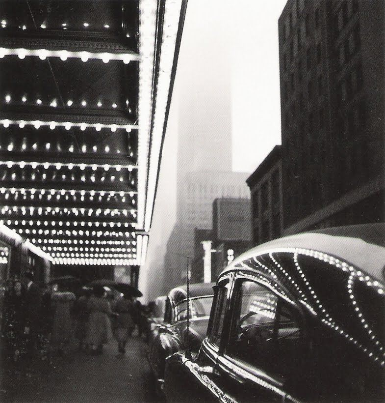Ernst Haas - Times Square, NYC, 1952