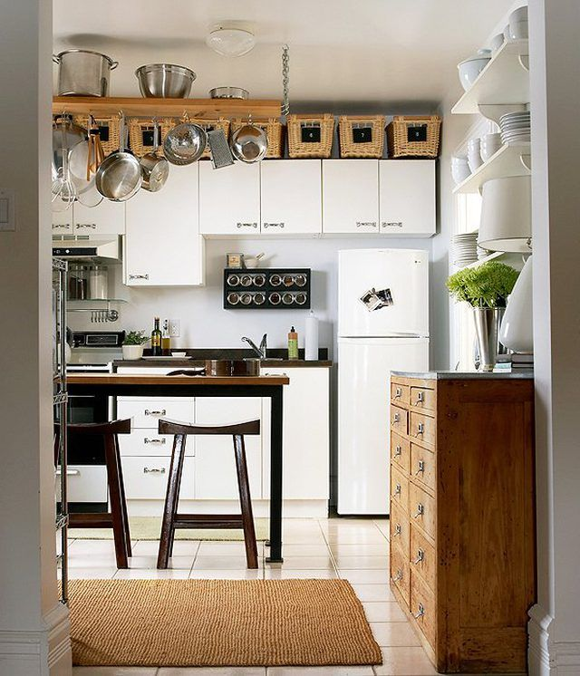 Decorating Above Kitchen Cabinet Design: Small Kitchen Design Ideas That Will Make You Forget About