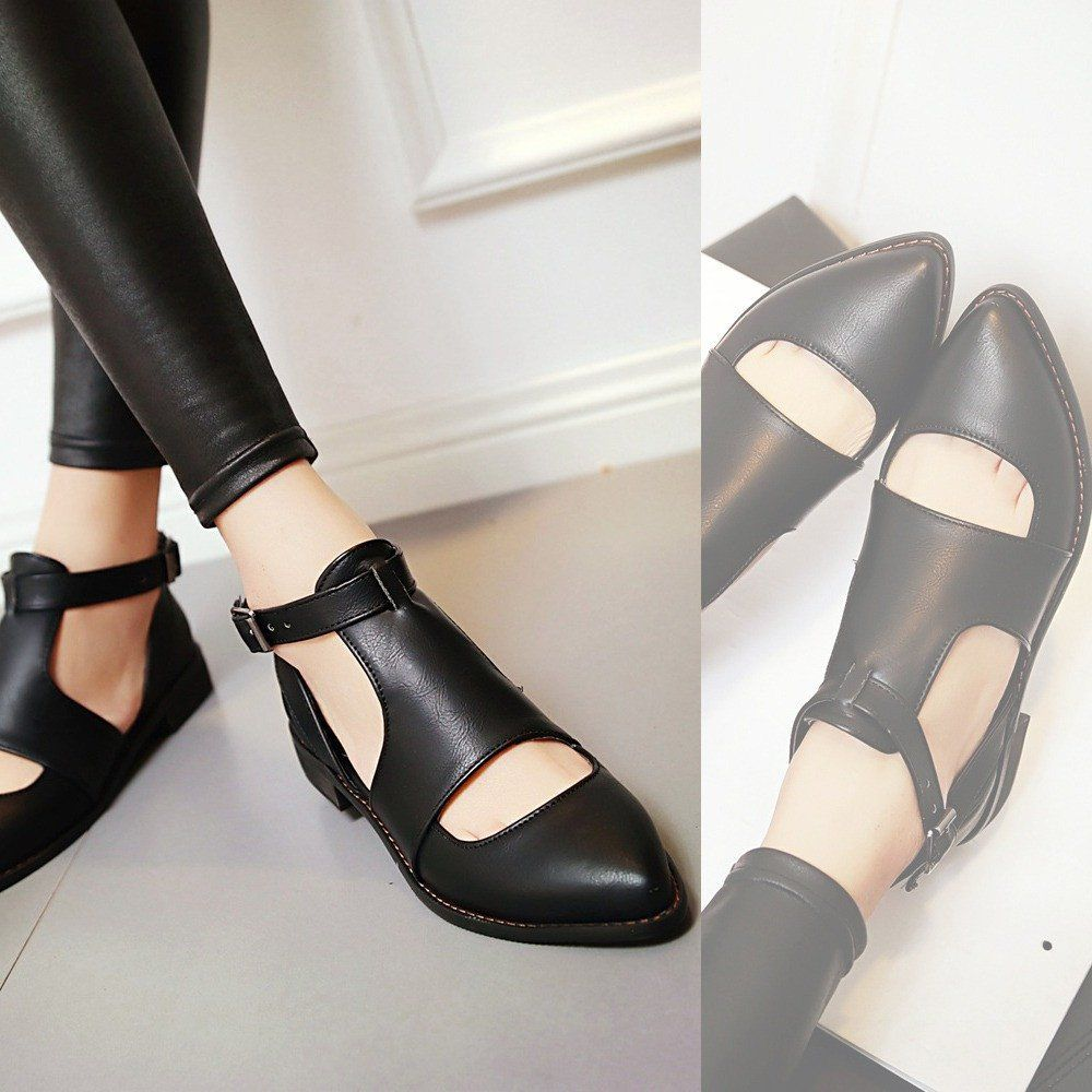 Heels: approx 2.5 cm Platform: approx - cm Color: Black, Red, Yellow Size: US 3,... 3