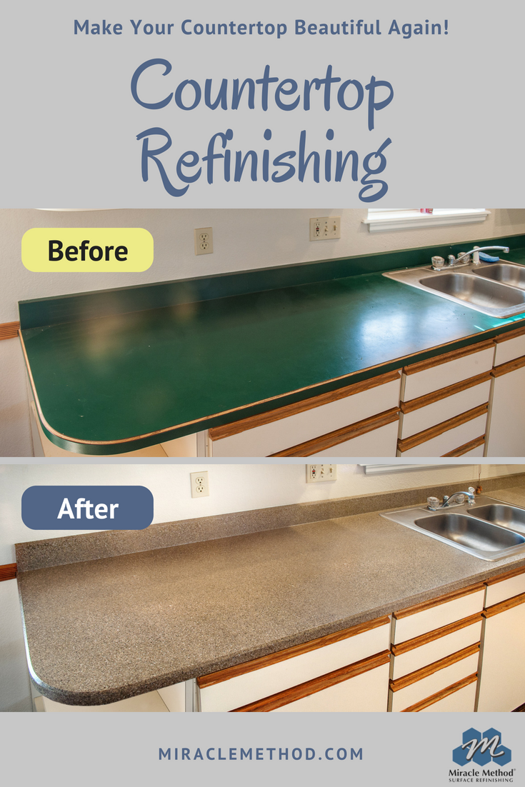 From Ugly to beautiful again with Miracle Method Surface Refinishing ...