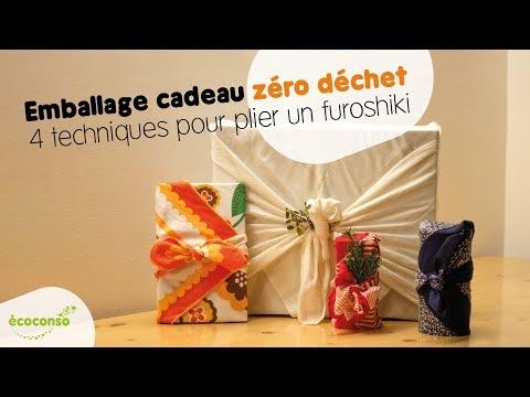 Le furoshiki : emballage cadeau zéro déchet - Le tuto d'écoconso