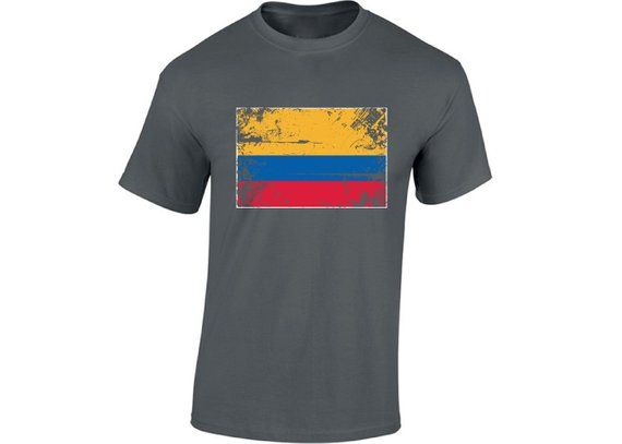 Colombia Flag Shirt for Men Colombian Flag Gifts for Him Colombian Soccer  Tshirt Colombia Shirt for b91d9474d