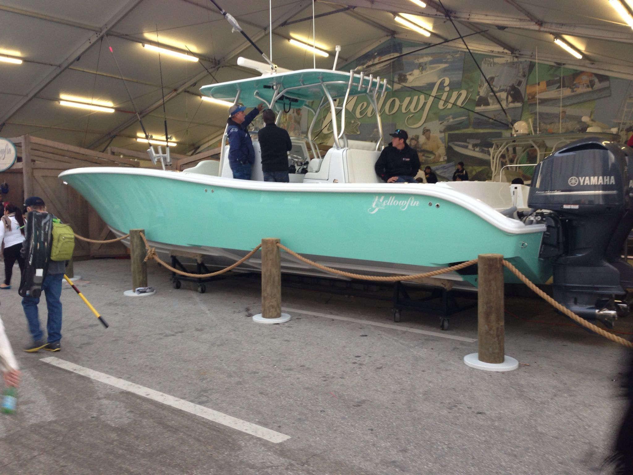 Boat Show Dream Boat Literally Center Console Fishing Boats Offshore Fishing Boats Offshore Boats