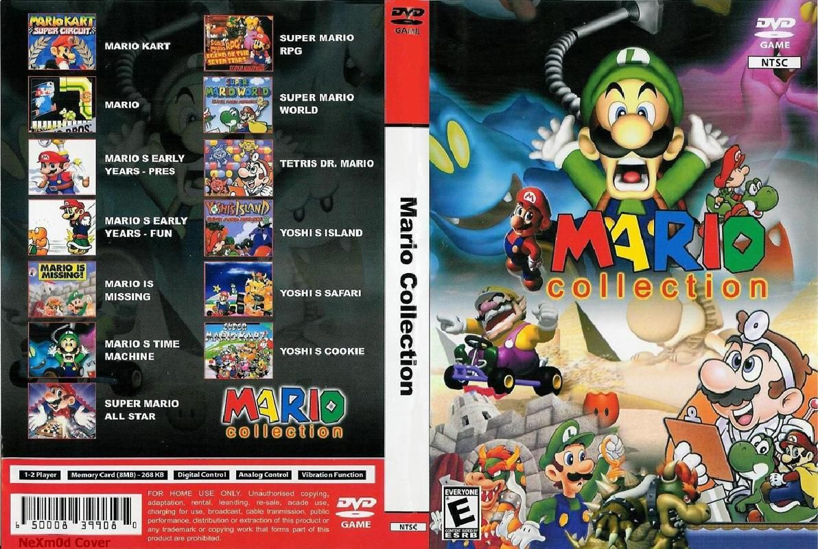 Super Mario Collection Cover Download Sony Playstation 2 Covers