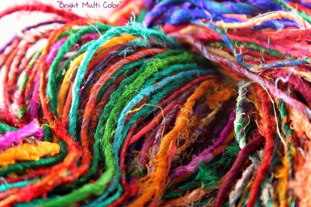DIY Craft: Tie Wire Pumpkins | Crafting | Sari silk, Yarn