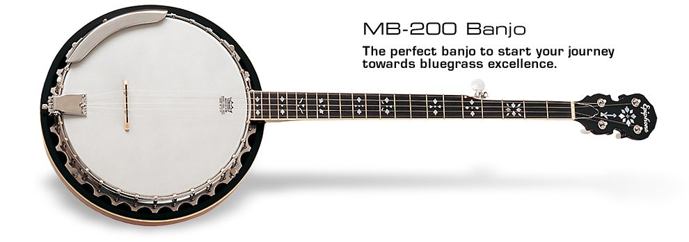 Epiphone MB-200 MR generally a decent beginners banjo, and