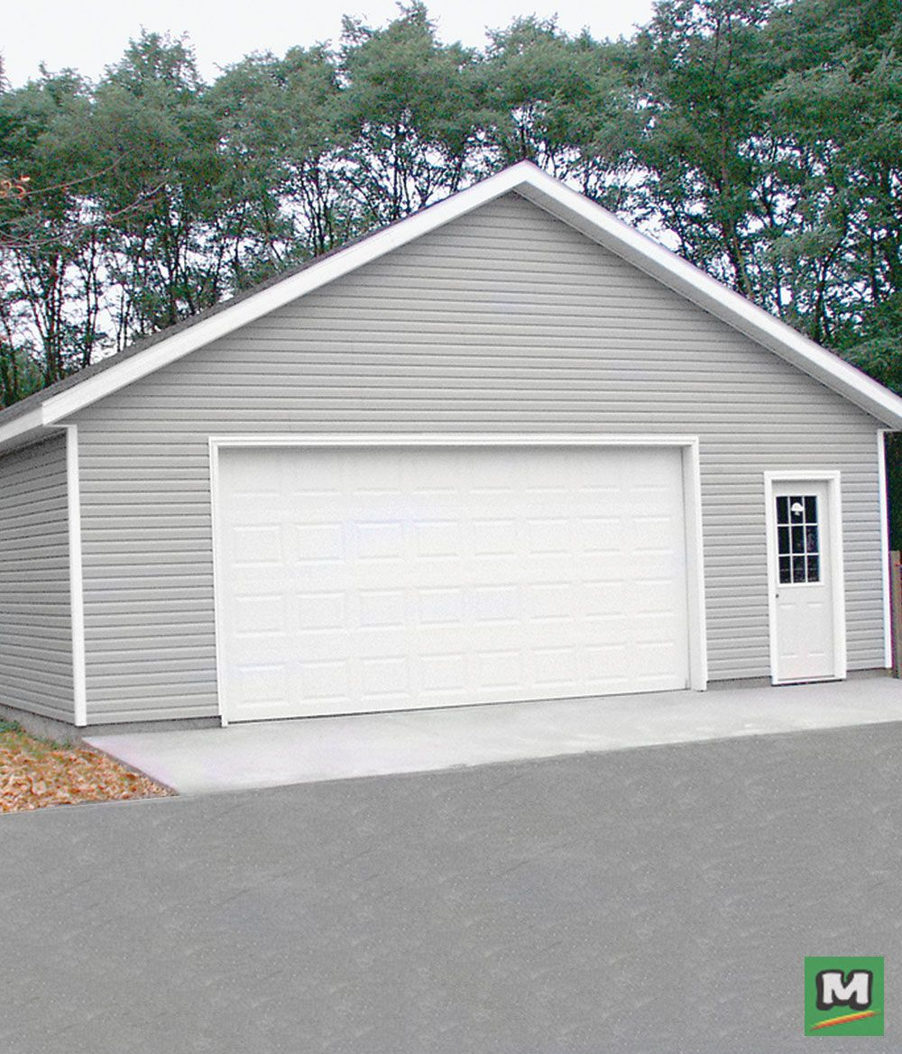 Build A Place That S All Your Own Our 2 Car Garage Provides Plenty Of Storage Space For Two Vehicles And All Garage Plans Detached Garage Plans Garage Design