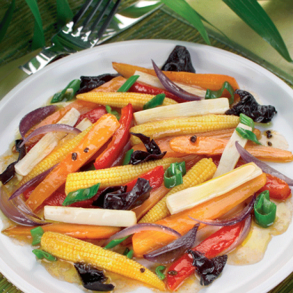 Jardiniere Of Mixed Vegetables By Actifry Easy Summer Dishes