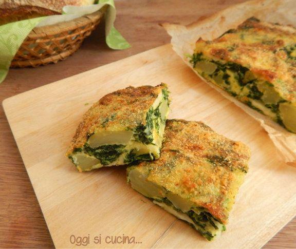 come preparare la frittata di spinaci per la dieta