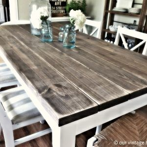 Antique Farm Style Dining Tables  Httpmetroless Cool Farm Style Dining Room Table Inspiration Design