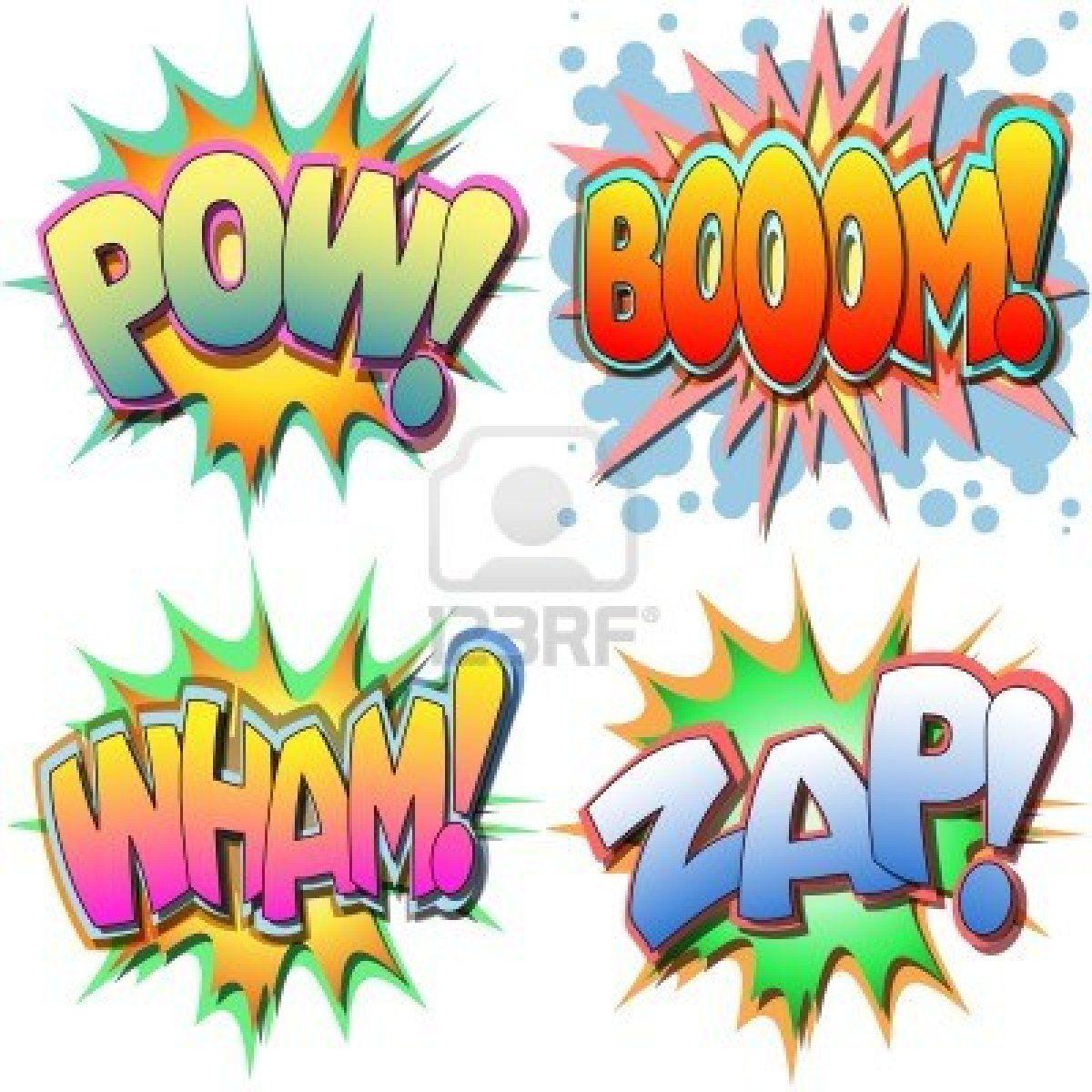 A Selection Of Comic Book Illustrations Pow Boom Wham Zap Comic Books Illustration Book Illustration Art Pop Art Wallpaper