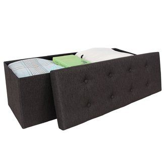 Best Andover Mills® Robinwood Storage Ottoman Folding Storage 400 x 300