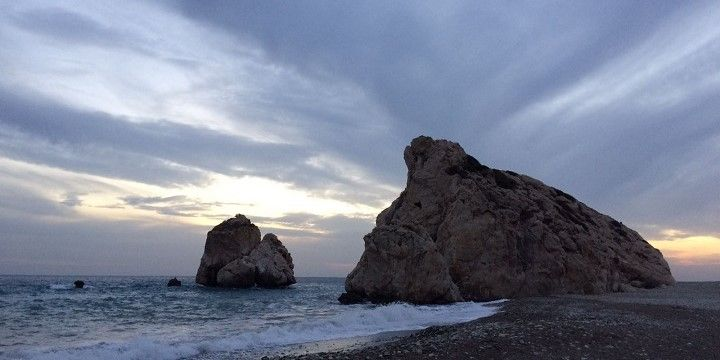 Aphrodite's Rock, Cyprus, Europe