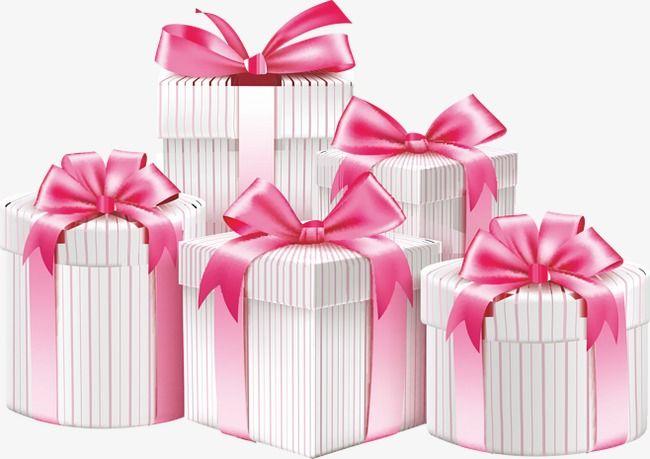 Regalo,Caja,Regalo,Bow,Ribbon,Pink,Navidad