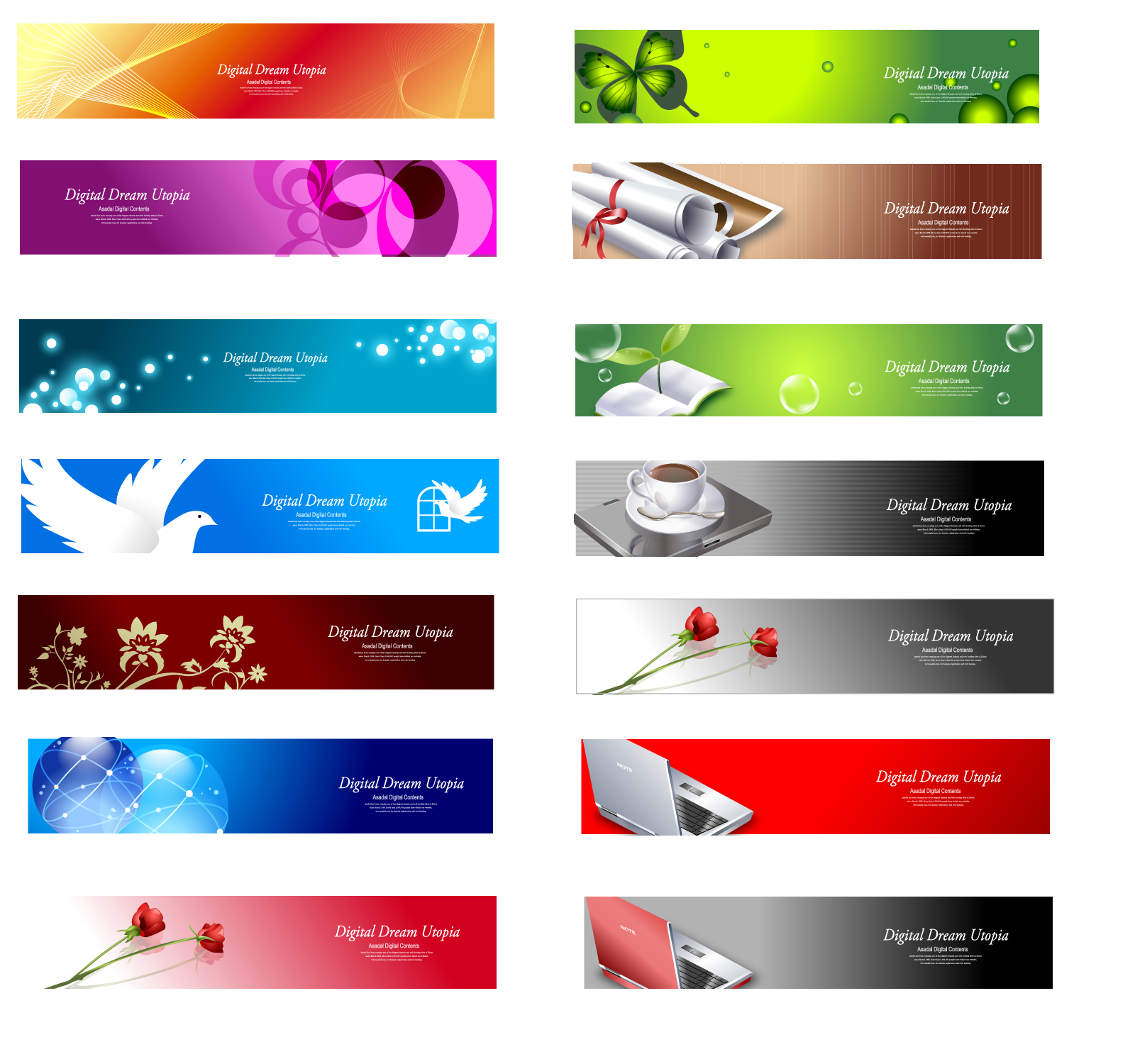 Web Banner Design | Banners and Web banners