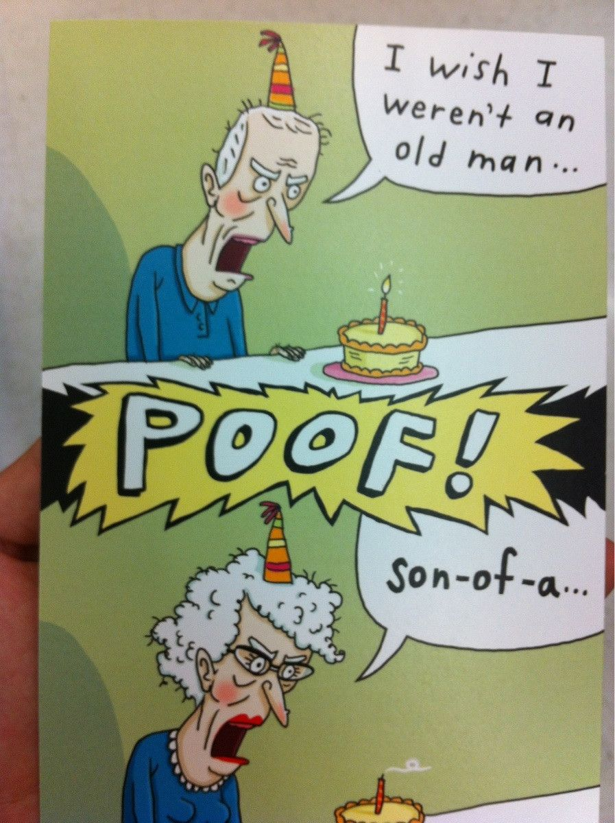 Amazon Com Nobleworks Urology Department Funny Happy Birthday Card For Grandpa Men Old Man Cartoon Notecard Bday Stationery C7262bdg Office Products