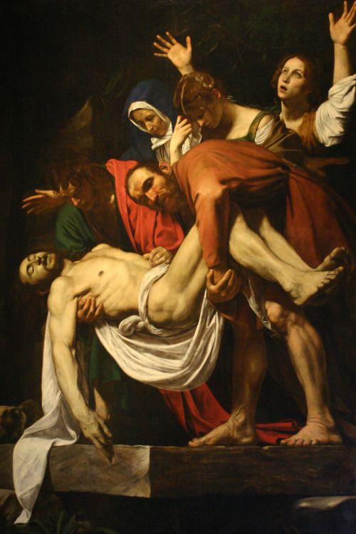 Entombment by Caravaggio