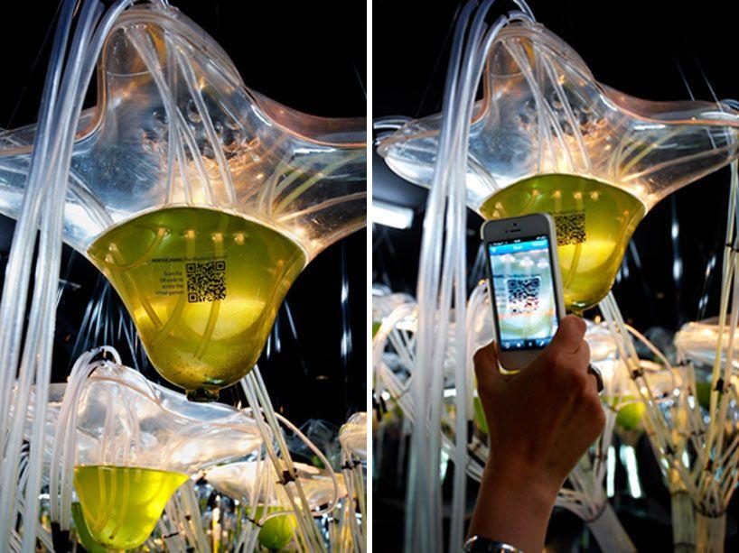 ecologicStudio explores cyber algae farming with HORTUS.PARIS