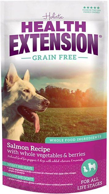 Health Extension Grain Free Salmon Recipe Dry Dog Food Offers Your