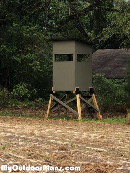 DIY 3×6 Deer Stand