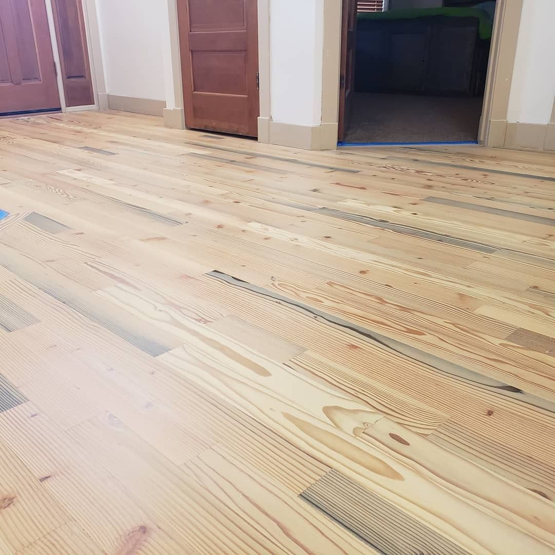 Reclaimed Pier Fir Finished Rubio Monocoat Natural