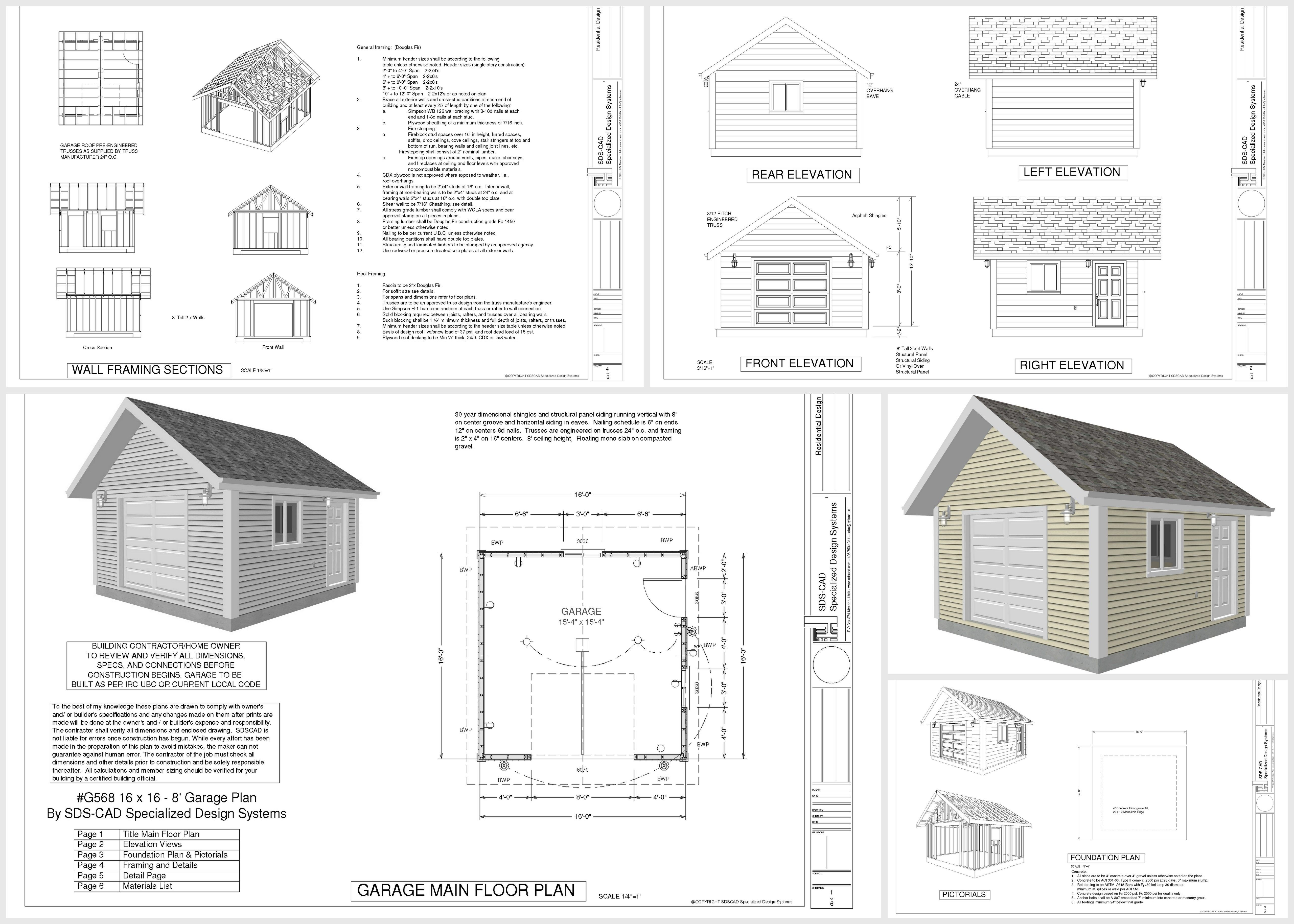 Small Cabin And Bunk House Plans Blueprints 10 Free Garage – Garage Plans Free Blueprints