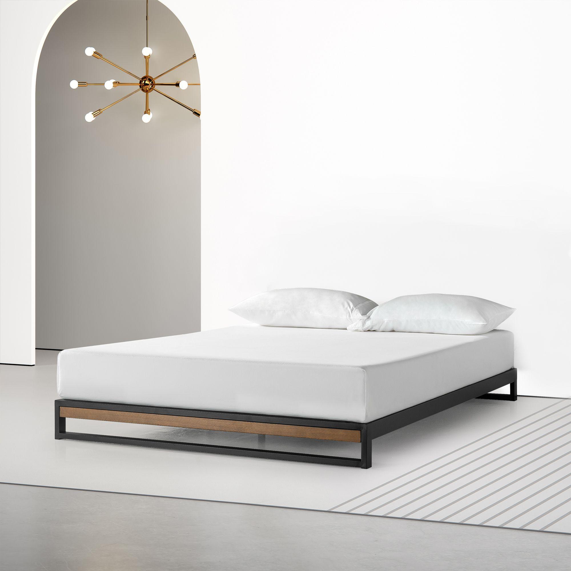Best Low Rise Ironline Platform Bed Temple Webster Bed 400 x 300