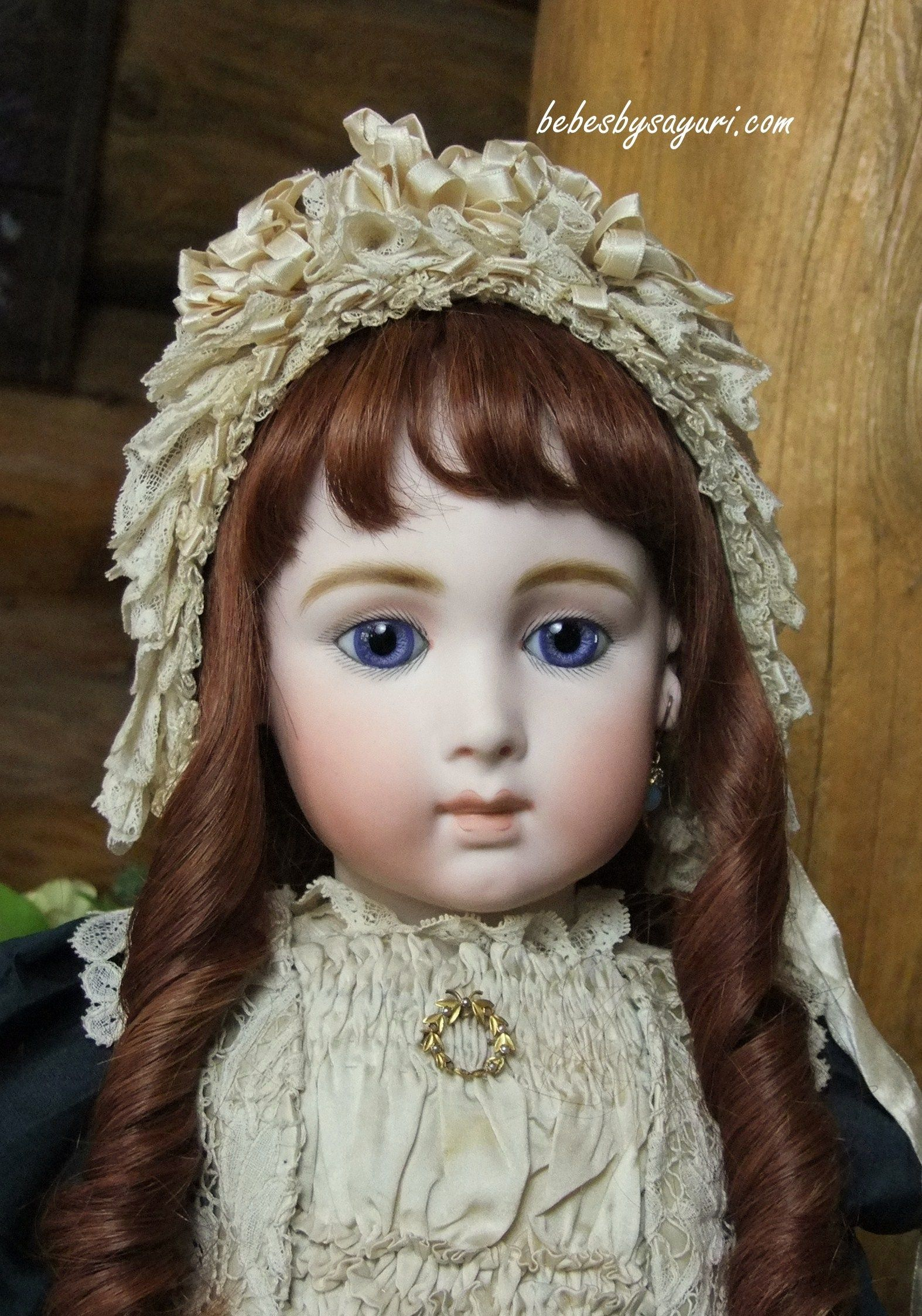 23 inch Jumeau Triste with antique eyes - Bebes by Sayuri