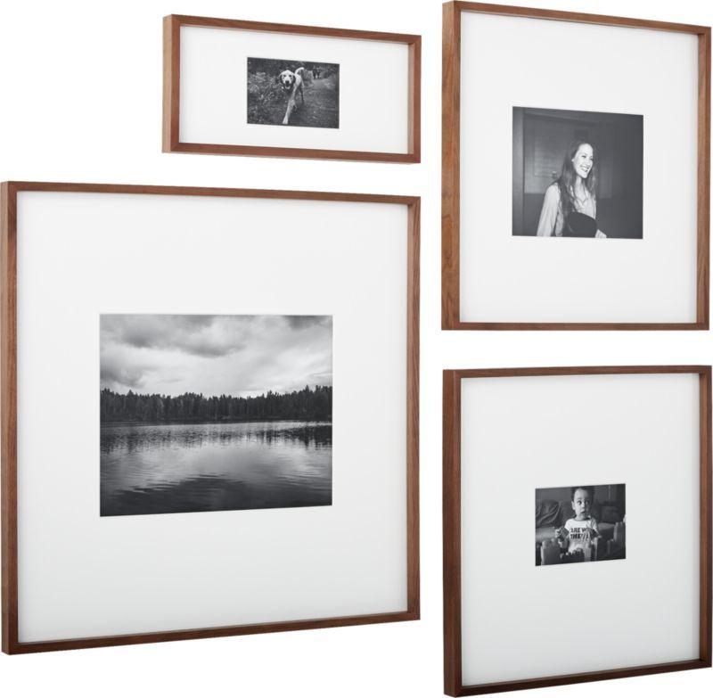 gallery walnut 11x14 picture frame | Cuadro y Estilo