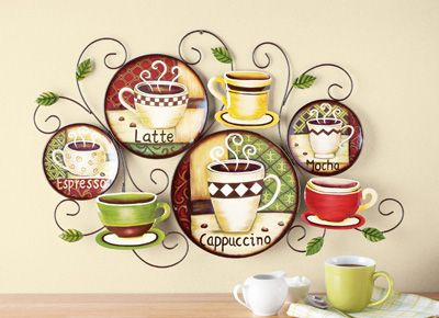 Charming #32749 Styles Of Coffee Metal Wall Art Decor By Sensationaltreasures