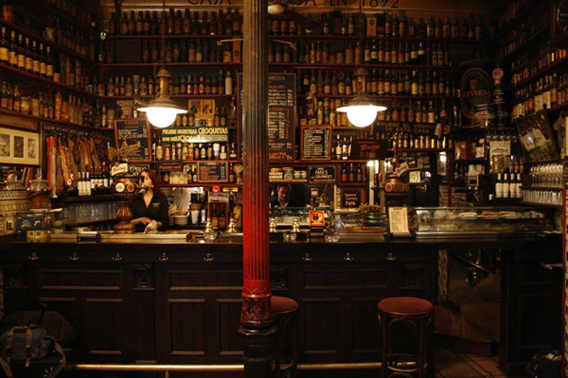 Bodega De La Ardosa Madrid Pinterest Madrid Tapas Madrid And