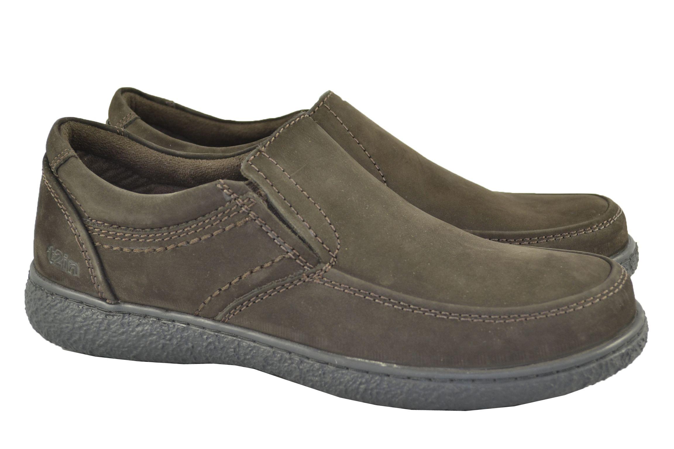 Zapatos sin cordones de look casual muy sport 69375464d6b