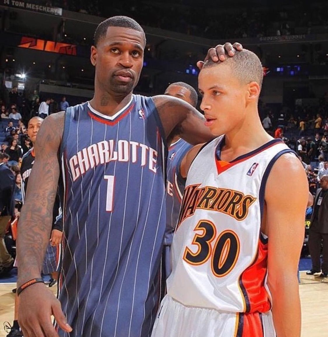 Stephen Jackson and Stephen Curry Hoopers Pinterest
