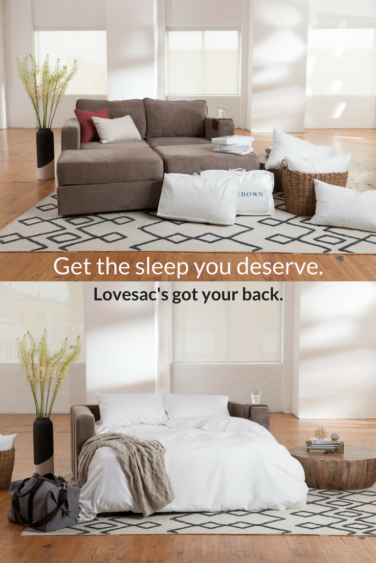 Couch To Bed In Minutes Lovesac Spreadthelove Modular