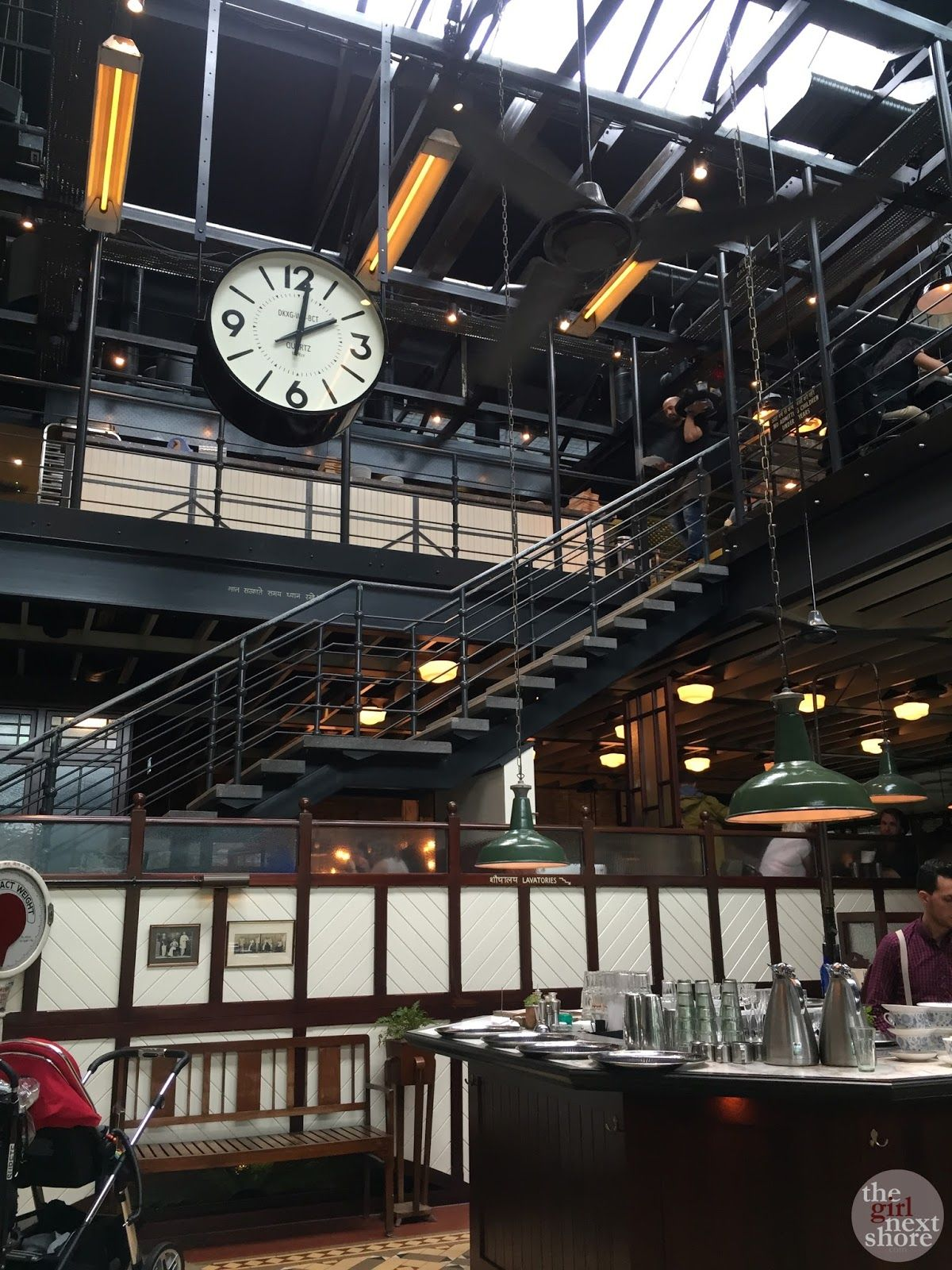 Dishoom (King's Cross) where food is as rich as Bombay's