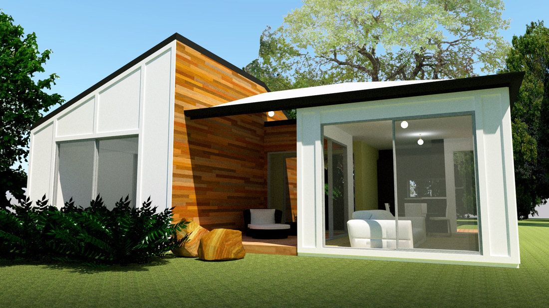 Featuring 2 Bedrooms And 1 Bathroom Set Across A Spacious 88m2 View Floor Plan And Design Features Save Up In 2020 Kit Homes Small House Kits A Frame House Plans
