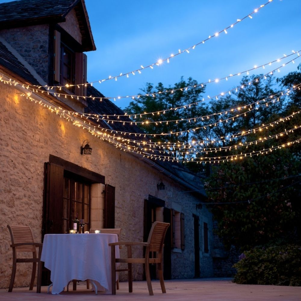 Christmas Fairy String Lights 3-100M Waterproof UK Plug Outdoor Home Party Decor