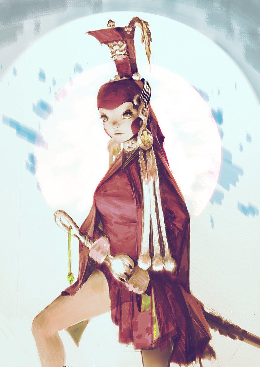 ArtStation - Empress Brte, xi zhang