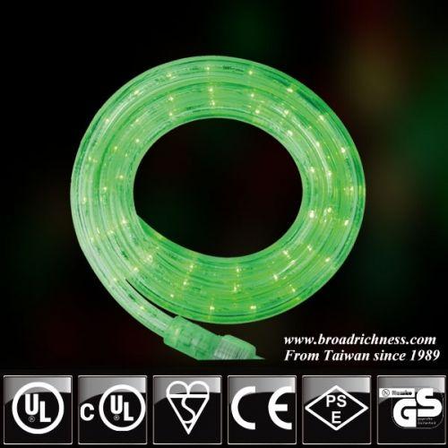 120V 39FT Green LED Rope Light,LED rope light,green LED rope light