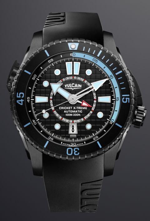 45cf3750406a Vulcain Cricket X-Treme Automatic alarm diving watch (Refs ...