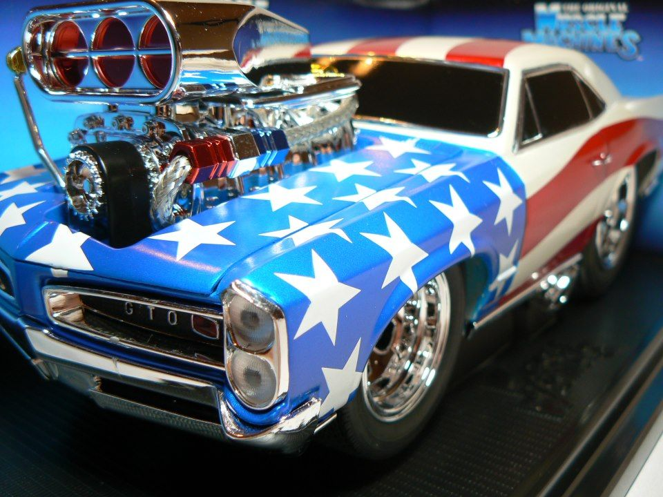 66 GTO by Muscle Machines - 1:18 Scale Diecast - Kentucky Trading ...