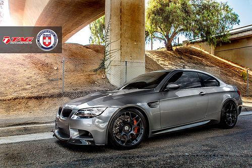 Tag Motorsports Bmw M3 With Hre P40s In Satin Black By Grubbs