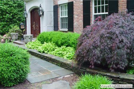 garden design garden design with front entrance landscape home - Garden Design Jersey
