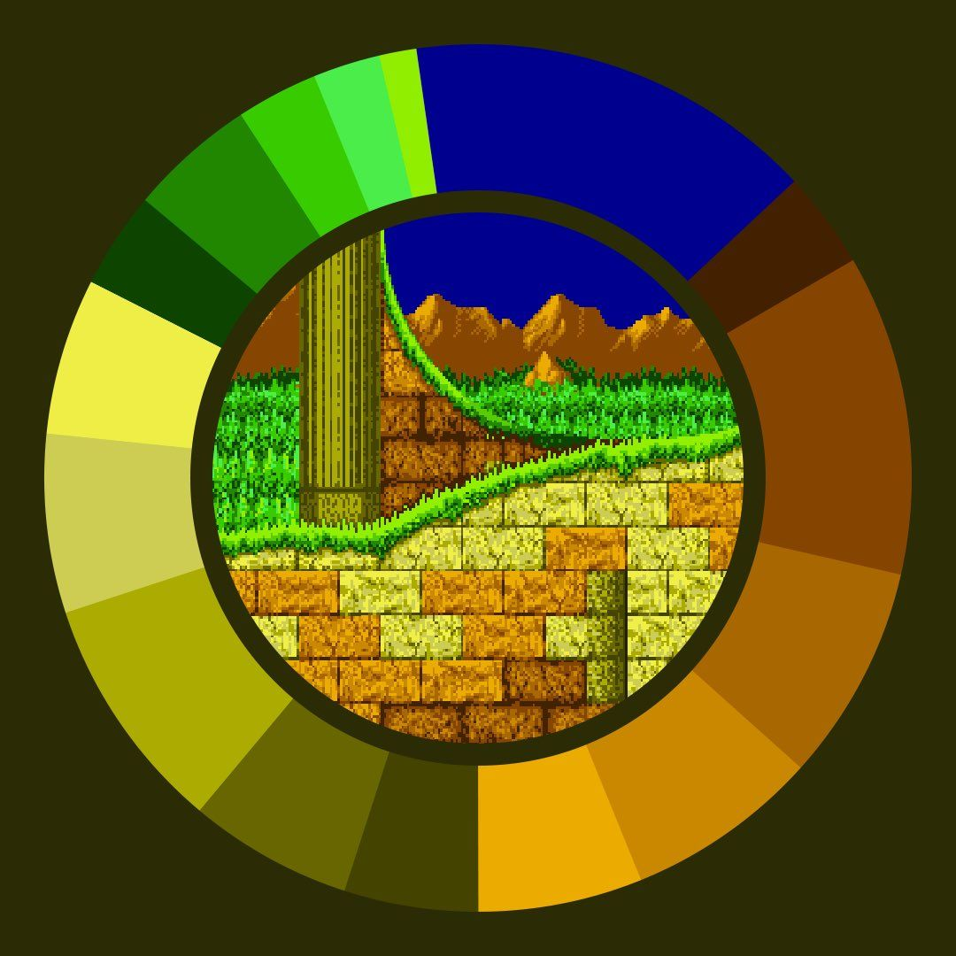 Game Color Wheel (@gamecolorwheel) | #game #color #palette ...