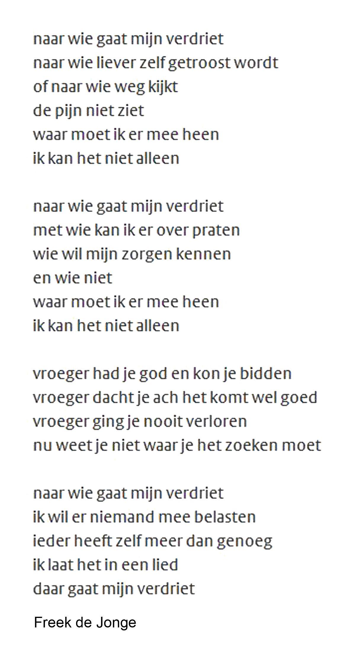 Pin Van Astrid Wesselius Op Freek De Jonge Gedicht Tekst Citaten