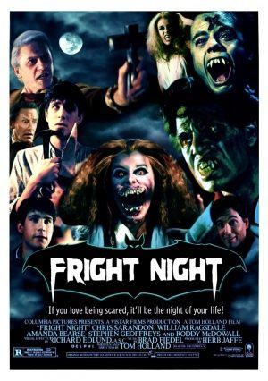 Fright Night 1985 Director Tom Holland Original Music By
