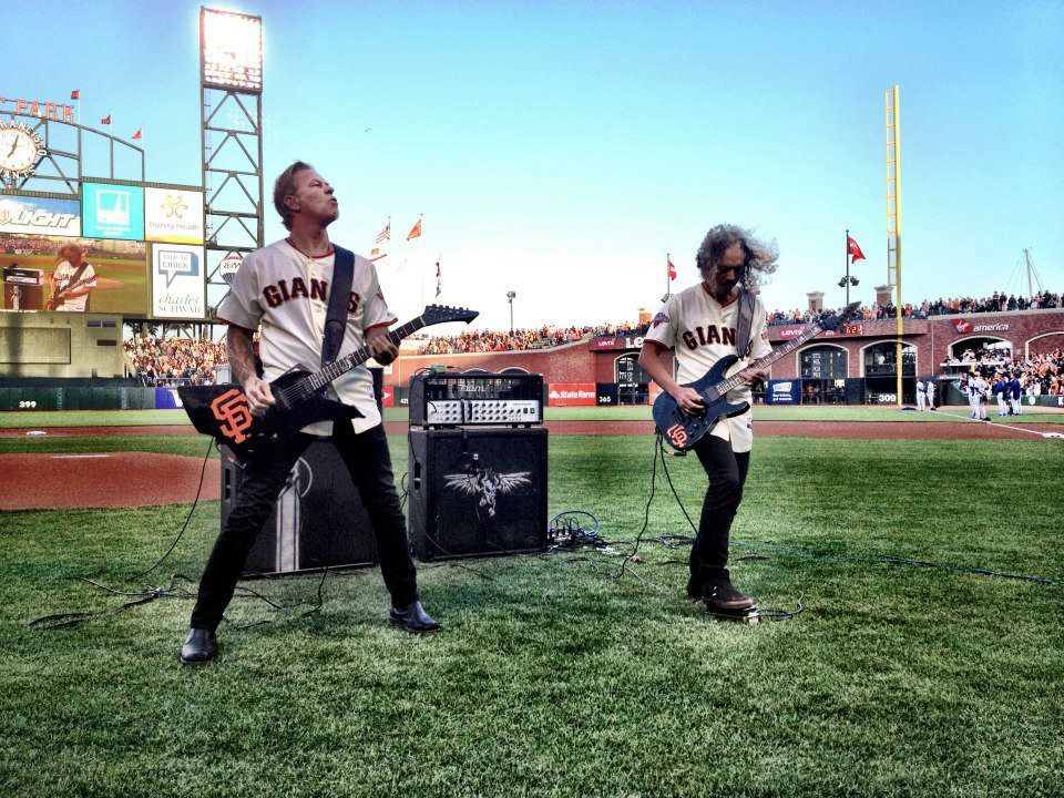 Metallica night at AT Park, the home of San Francisco Giants