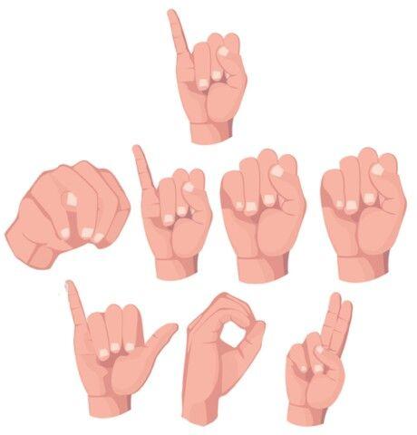 sign language i miss you wwwpixsharkcom images